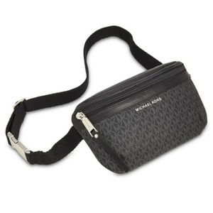 MICHAEL Michael Kors Accessories - MICHAEL Michael Kors Logo Fanny Pack Black